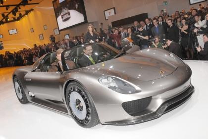 Женевский автосалон: Porsche Spyder 918