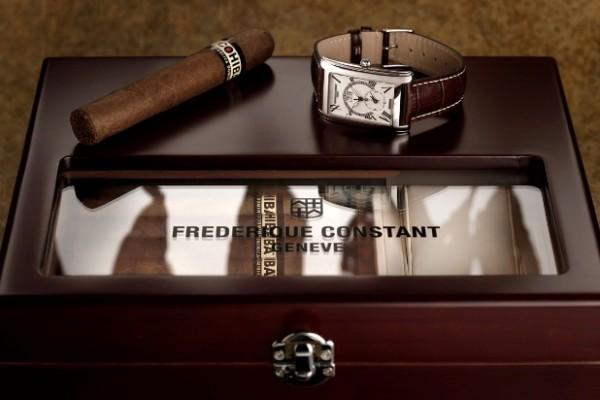 Часы Frederique Constant и хьюмидор Cohiba