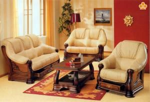 Кожаные диваны – лучшее украшение любого дома