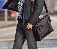 Виды мужских сумок и особенности их выбора