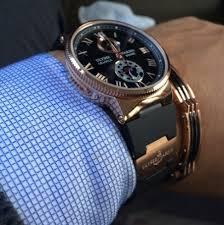 Брендовые часы – атрибут настоящего мужчины